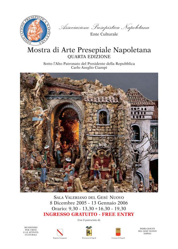 in copertina, Silvano Del Grande, Scenografia presepiale, tipo '800