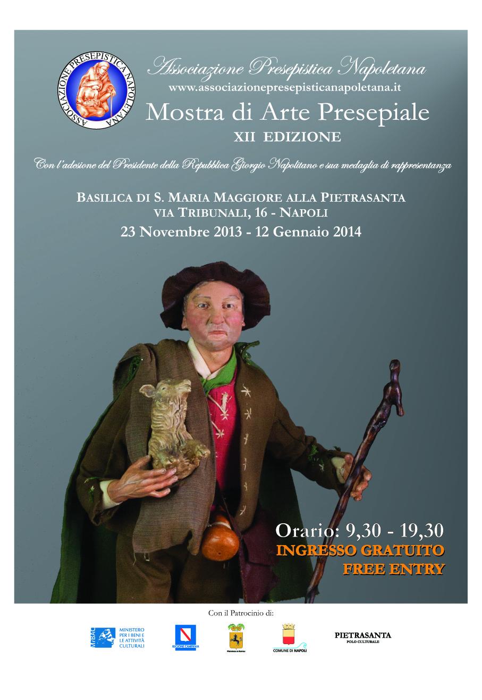 Locandina Mostra 2013