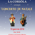 La Coriòla – Concerto di Natale – 10 Gennaio 2016
