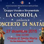 La Coriòla – Concerto di Natale